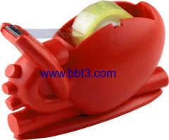 Promotional medical heart shape tape dispenser