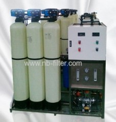 0.5m3/h Commercial RO Water Treatment System
