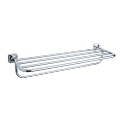 Shelf with towel bar