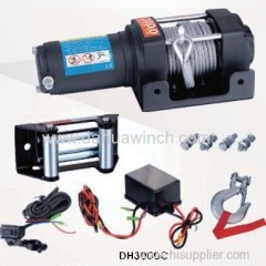 12v electric ATV winches 3000 lbs