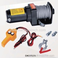 12v electric ATV winches 2000 lbs
