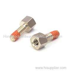 Custom machined special screw
