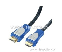 1080p high speed hdmi cable with double color