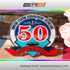 Imitation hard enamel pin/anniversary lapel pins/badge lapel pin maker