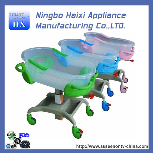 Air Spring tilting baby trolley