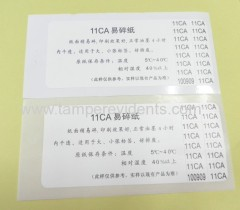 Manufacturer Wholesales Eggshell stickers made in china,Ultra Destructible Vinyl material