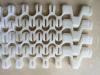 Smooth surface flexible modular conveyor belt 100R