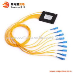 ABS box type PLC fiber optic splitter