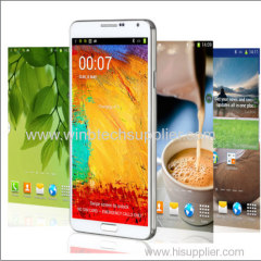 "1:1 Note 3 MTK6592 Perfect 1:1 HD Galaxy N9000 Note 3 Note III Android 4.3 MTK6592 5.7"" 1280*720 Resolution 1GB Ram 3G"