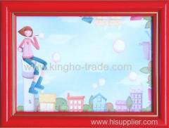 Red Border PS Photo Frame