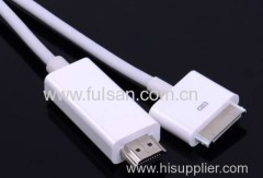 HDMI Cable for Apple iPad iPhone iTouch Series