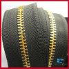 rose gold metal zipper Long Chain
