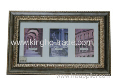 Classic style PS Photo Frame For Three Fotos