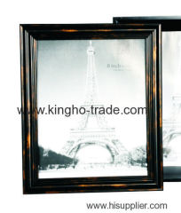 Vintage Wooden Texture PS Photo Frame
