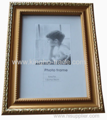Golden Border PS Photo Frame