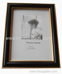 Black And Golden PS Foto Frame