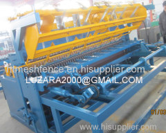 Automatic welded mesh fence manufacturering machine