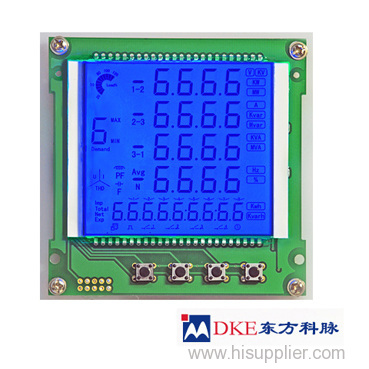 energy meters LCD screen module from China manufacturer