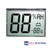 Hygrothermograph Segment code LCD display screen