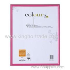 Pink Border PVC Extruded Photo Frame