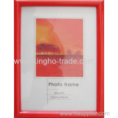 Red Frame PVC Extruded Photo Frame