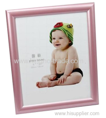 Pink PVC Extruded Photo Frame