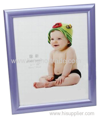 Purple PVC Extruded Picture Frame