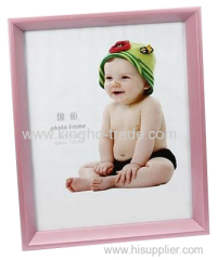 Light Pink PVC Extruded Picture Frame