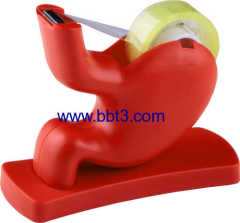 New Promotional medical stomach shape dispenser with tape