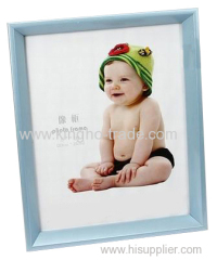 Light Blue PVC Extruded Picture Frame