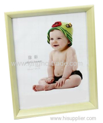 Light Yellow PVC Extruded Picture Frame