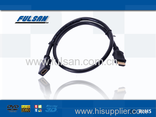 hdmi extender cable 30M High Speed Male to Female type HDMI Cable 1.4 Support 3D 1080p for HDTV Set Box BlueRay