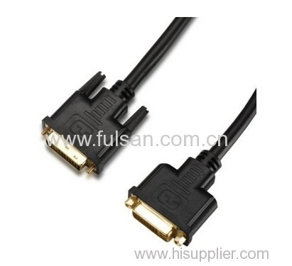 18+1 24+1 gold plated ul20276 dvi cable for LCD monitor
