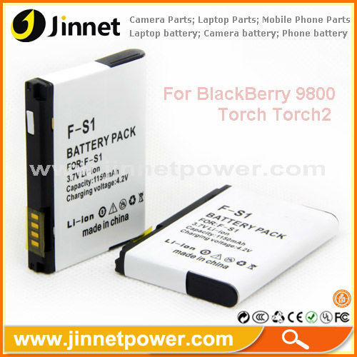 For Blackberry F-S1 9800 mobile phone battery