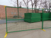 6ft by 10ft Powder coated temporary modular fence panels temporary steel construction fence