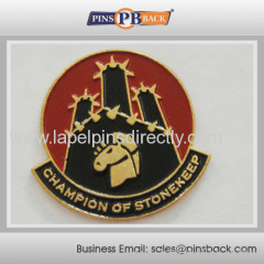 Customized soft enamel lapel pin badge/Soft enamel lapel pin badge with nickel plating
