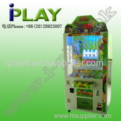 prize game and amusement coin operated Fruit mania machine