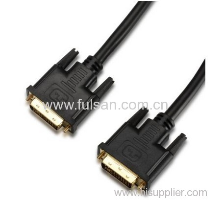 dvi cable 24+5 male to female dual-link for LCD monitor/projector 6ft