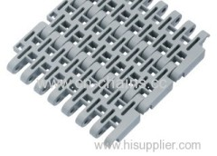 Flush Grid modular plastic conveyor belt M5032 pitch 50.8mm