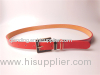 Fashion Lady PU Belt with Two Color Combination