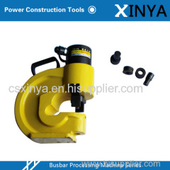 Hydraulic Busbar Machine of Hole Puncher for angle iron