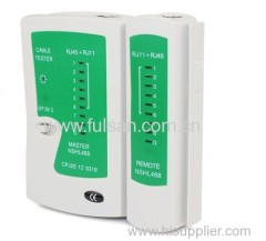 RJ45 RJ11 Cat-5 Cat-6 Cable Network LAN Cable Tester