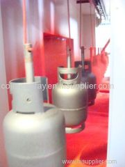 fire extinguisher powder painting line