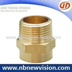 Brass Male Adapters - NPT & BSP thread for HVAC & Plumbing