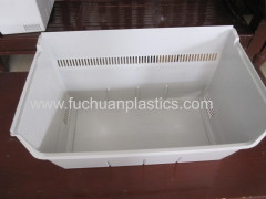 PP refrigerator plastic drawer injection molding products