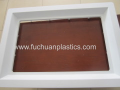ABS Commercial freezer plastic cabinet injection molding product