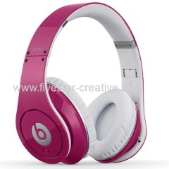 Beats Studio Pink Over-Ear High Definition Headphones