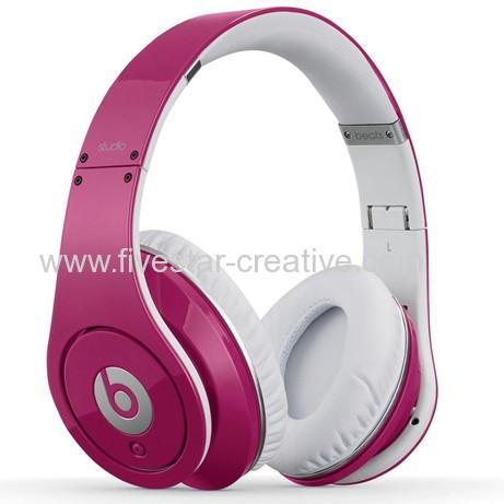 Beats Studio Pink Over-Ear High Definition Headphones