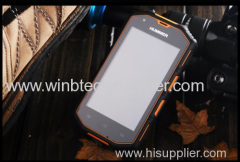 "2014 Hummer H5 3G Smartphone 4.0"" Capacitive Screen IP68 Waterproof Shockproof Dustproof 512M RAM 4G ROM Android 4.2 Pol"