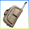 Hot selling large capacity nylon exhibition trolley bags